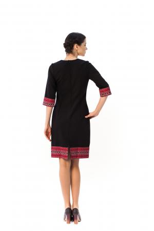 Платье «Горянка» черного цвета