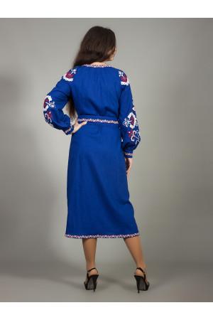 Платье «Карпатская волна»