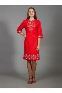Платье «Аллегро» красного цвета