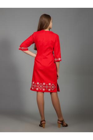 Сукня «Алегро» червоного кольору