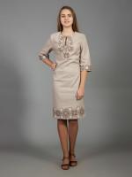 Сукня «Алегро» бежевого кольору