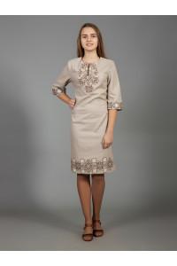 Платье «Аллегро» бежевого цвета