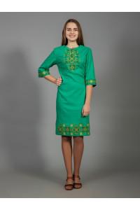 Платье «Аллегро» зеленого цвета
