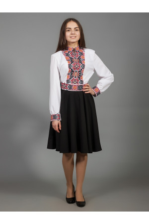 Сукня «Вишукана геометрія» чорного кольору