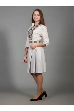 Платье «Вербена» бежевого цвета