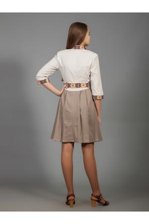 Сукня «Вербена» кольору кави з молоком