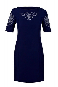 Платье «Ориана» синего цвета