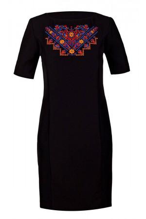 Платье «Мира» черного цвета