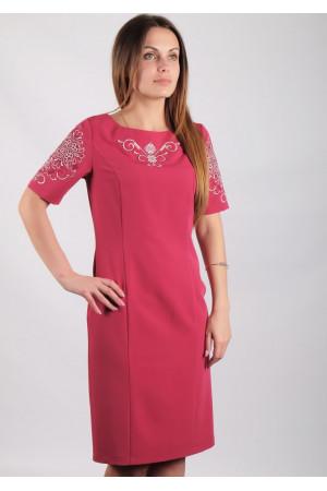 Платье «Ориана» темно-розового цвета