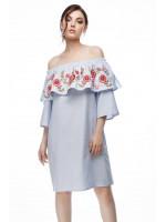 Сукня «Казкова» сірого кольору
