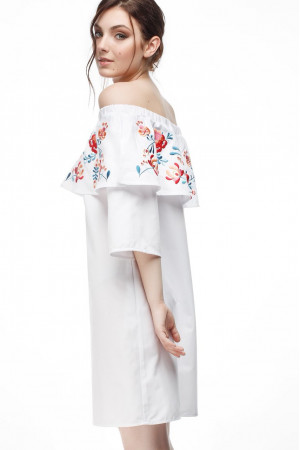 Сукня «Мрійлива» білого кольору
