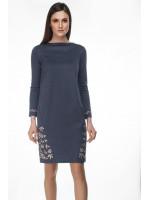 Сукня «Ярина» темно-сірого кольору