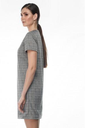 Платье «Эми» серого цвета