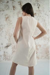 Платье «Звездное сияние» молочного цвета
