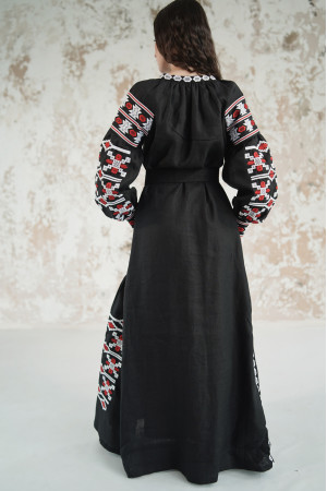 Сукня «Грація» чорного кольору