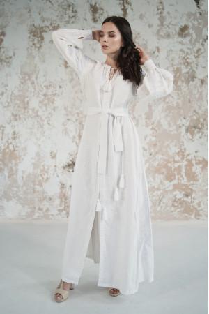 Платье «Грация» белого цвета