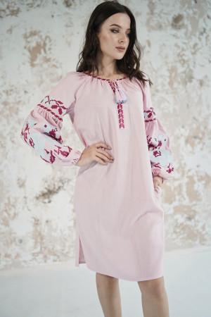 Платье «Левада» розового цвета