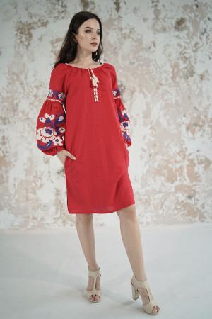 Сукня «Левада» червоного кольору