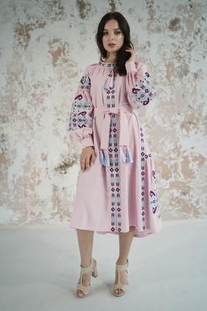 Платье «Врода» розового цвета