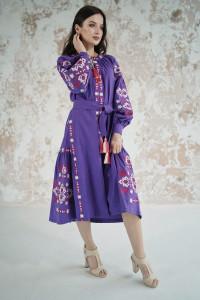 Сукня «Врода» фіолетового кольору