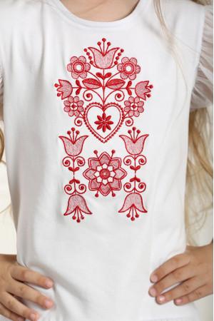 Сукня для дівчинки «Ніжність» білого кольору