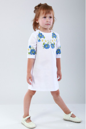 Сукня для дівчинки «Волошкові мрії»