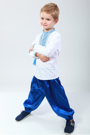 Шаровари для хлопчика синього кольору