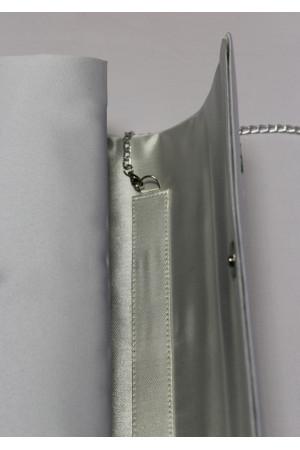 Вишитий клатч «Чарівність» білого кольору