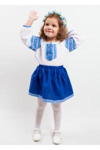 Костюм для дівчинки «Блакитна казка»
