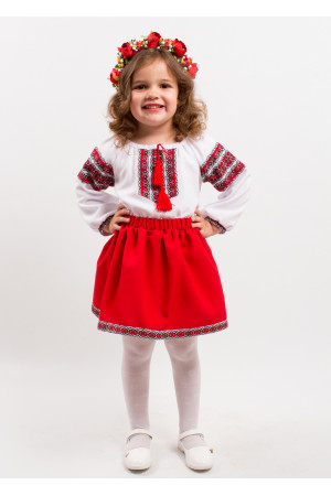 Костюм для дівчинки «Червона казка»