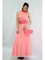 Платье «Романтика» розового цвета