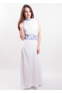 Сукня «Романтика» біла з синім