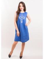 Платье «Перо павлина»
