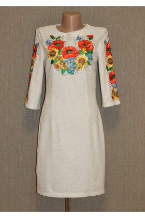 Платье «Украинский букет»