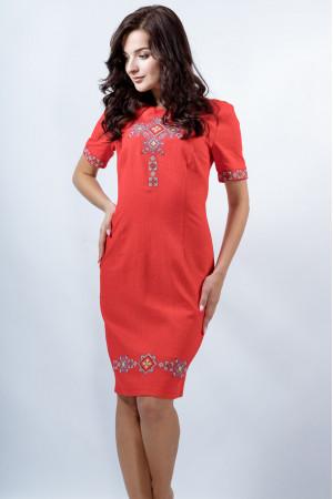 Платье «Изысканность» красного цвета