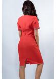Сукня «Вишуканість» червоного кольору