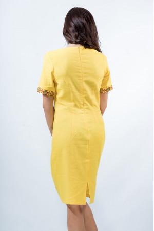 Сукня «Вишуканість» жовтого кольору