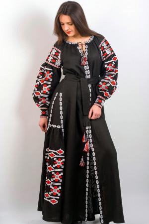 Платье «Грация» черного цвета