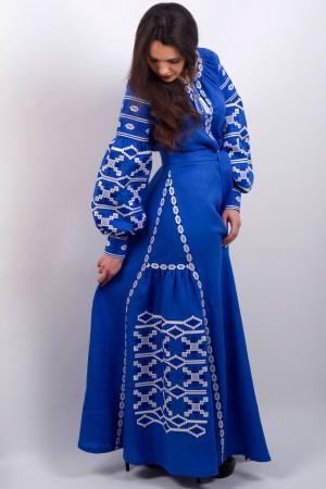 Сукня «Грація» синього кольору