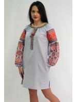Сукня «Розкіш» сірого кольору