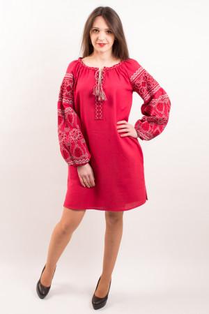 Сукня «Розкіш» вишневого кольору