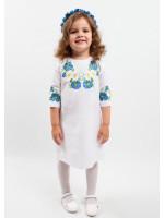 Платье для девочки «Васильковые мечты»