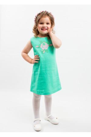 Сукня для дівчинки «Посмішка троянди» кольору м'яти