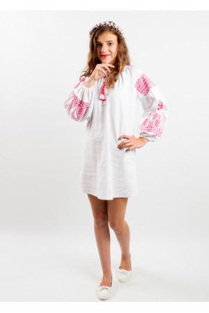 Платье для девочки «Роскошь» белого цвета
