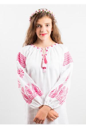 Сукня для дівчинки «Розкіш» білого кольору