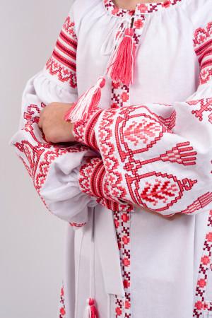Сукня для дівчинки «Розкіш» білого кольору, довга