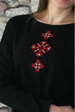 Свитшот «Мечта» с красной вышивкой