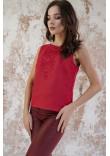 Вишиванка «Краса» червоного кольору