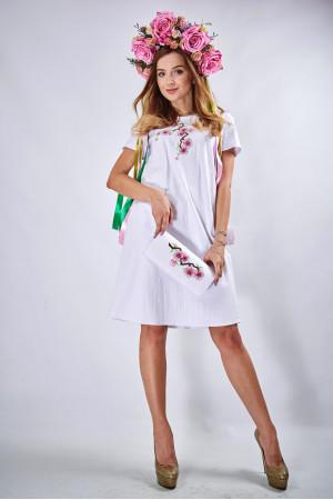"""Сукня """"Сакура"""" білого кольору"""