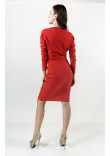 Сукня «Зоря» червоного кольору